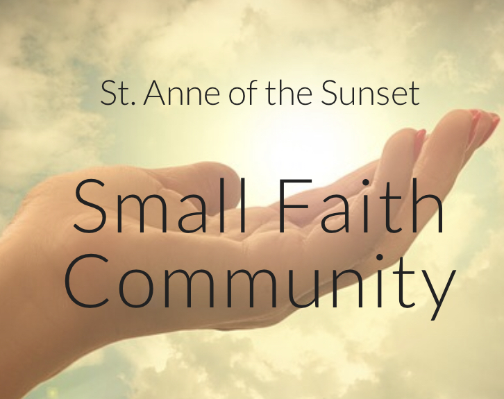 New Small Faith Community Meetings