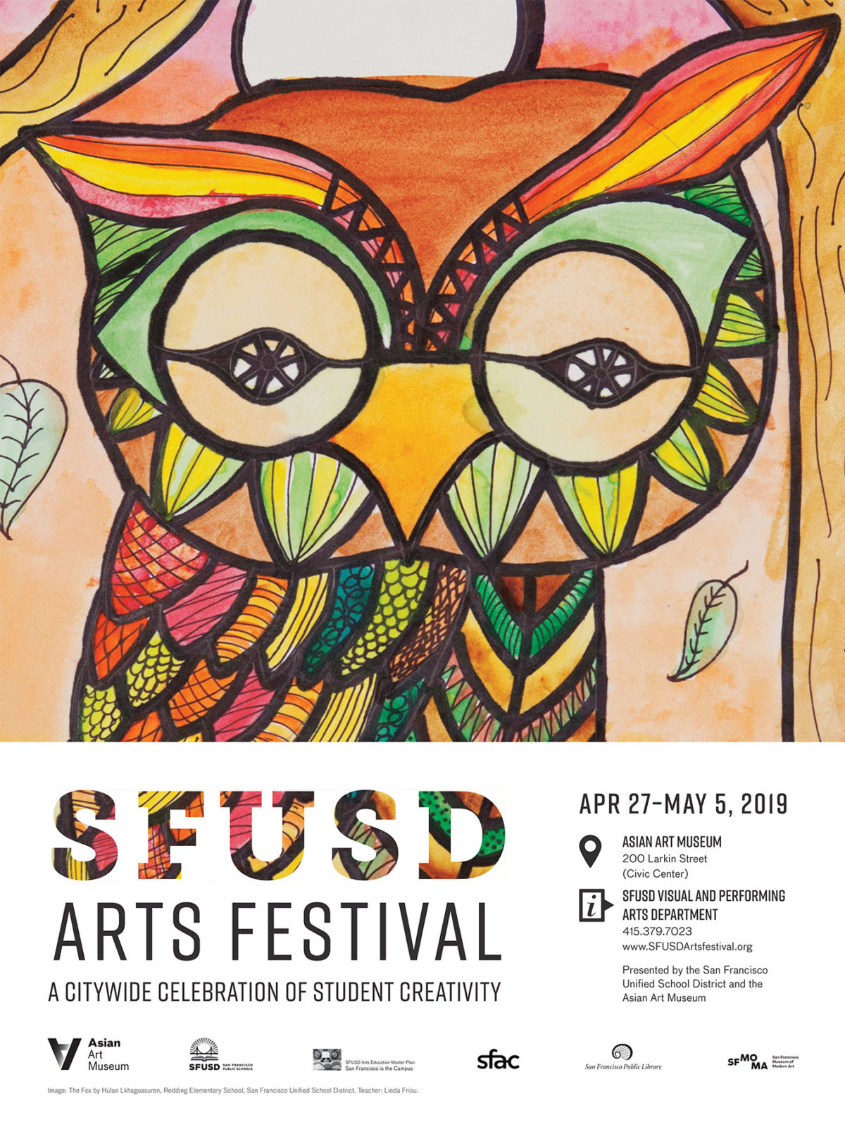 St. Anne School Choir at the 2019 SFUSD Arts Festival