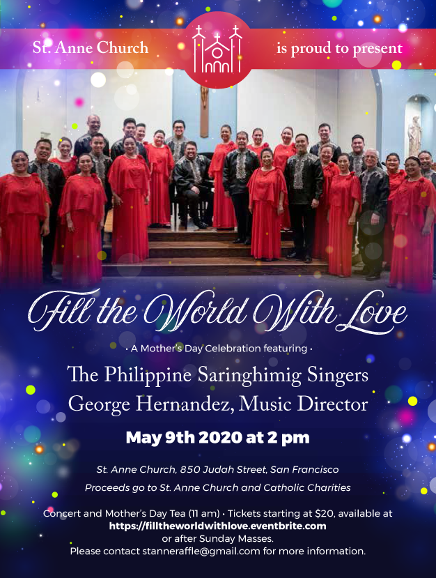 Fill the World with Love-Springtime Choral Concert
