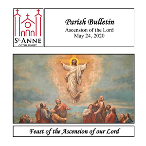 Weekly Bulletin: Feast of the Ascension