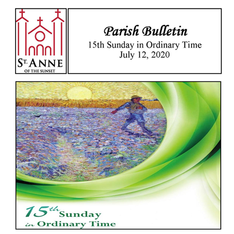 Weekly Bulletin 7/12/2020