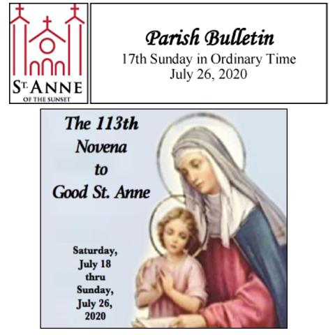 Bulletin 7/26/2020