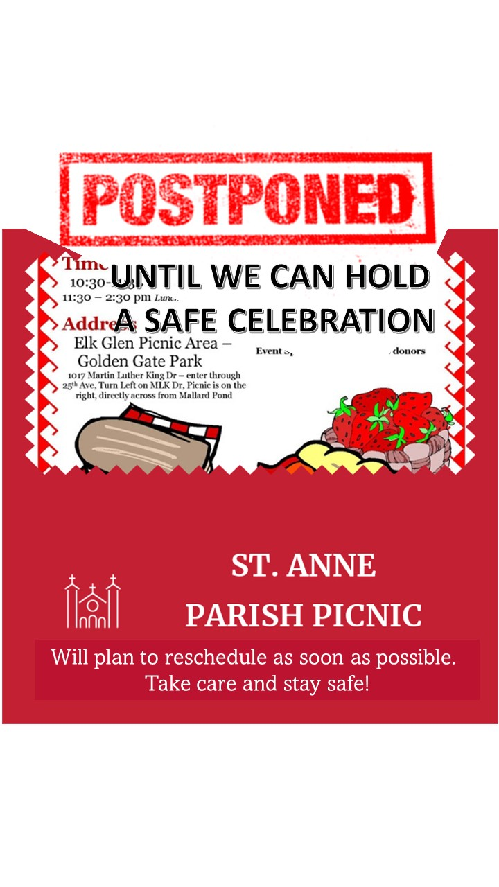 Pandemic-Provoked Parish Picnic Postponement
