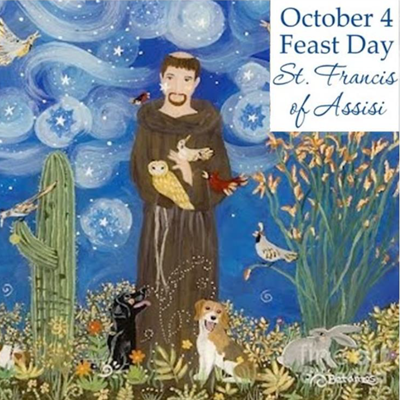 Feast of St. Francis of Assisi Pet Blessing