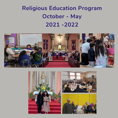 In-Person Religious Education (CCD)